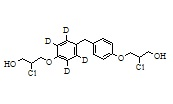 Bisphenol A Impurity 8-d4