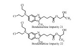 Bendamustine Impurity 24 (Mixture of Bendamustine Impurity 21 and Bendamustine Impurity 22)
