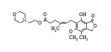 (4Z)-Mycophenolate Mofetil