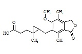 Mycophenolic Acid Cyclopropane Analogue