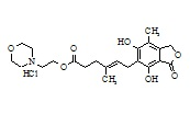 Mycophenolate Mofetil Impurity A HCl (O-Desmethyl Impurity HCl)